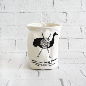 Koszyk na drobiazgi z materiału zwierzak