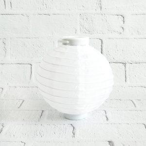 Lampion papierowy żarówka LED