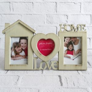 ramka na zdjęcia z napisem home