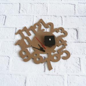 zegar ścienny drewniany DIY