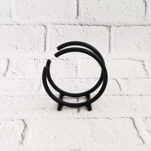 serwetnik metalowy czarny