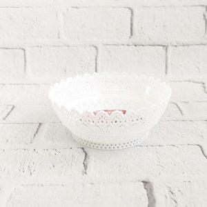 koszyk na owoce biały
