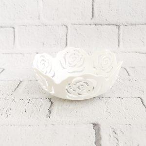 Koszyk na owoce róże